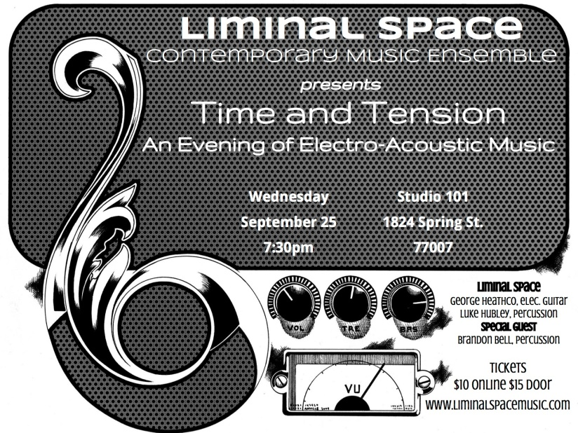 Liminal Space presents an Evening of Electro-Acoustic Music